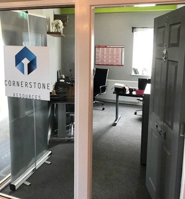 Cornerstone Resources Human Resources Consultancy new office